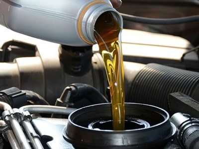 замена масла в двигателе и КПП