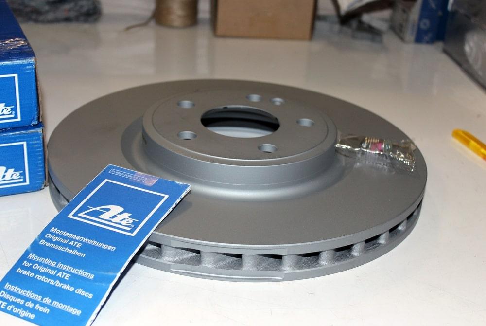 замена тормозных дисков в Минске